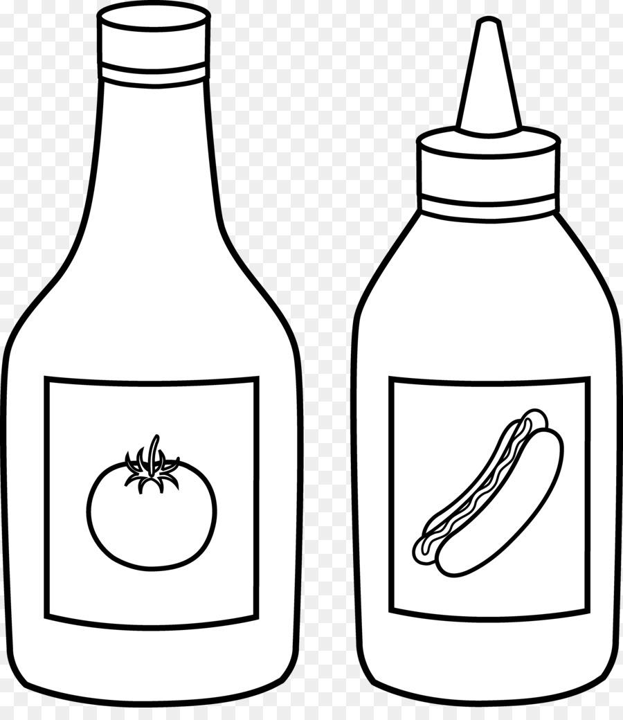 900x1040 Ketchup Drawing For Free Download