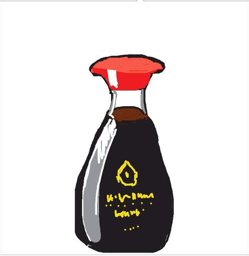 500x514 Soysauce Drawings