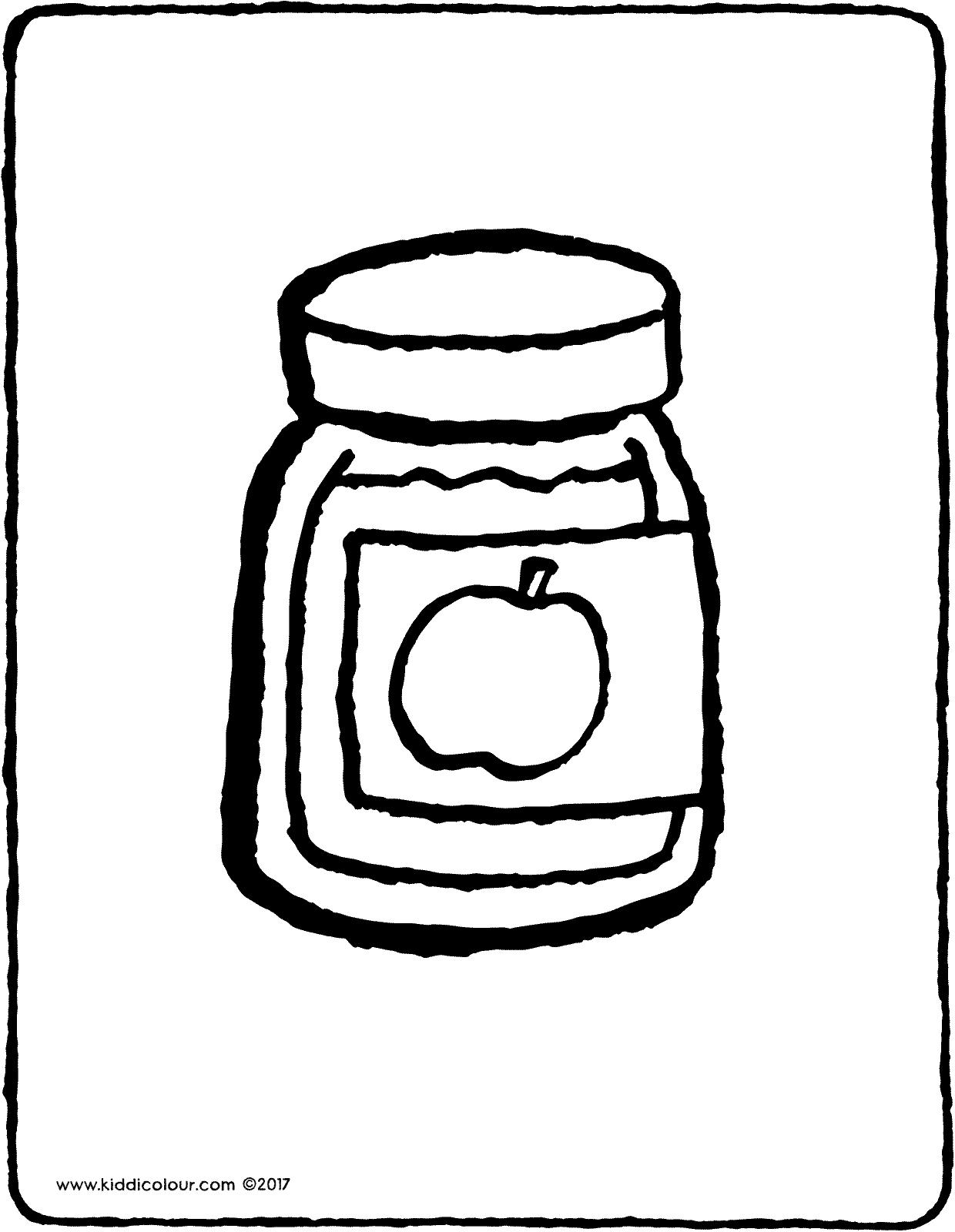 1240x1600 Apple Sauce In A Jar