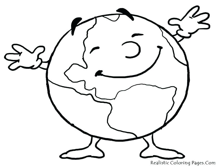 863x647 Save Earth Drawing Easy For Kids
