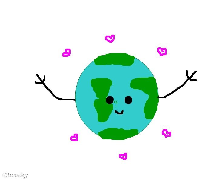 700x600 Save The Earth A Plants Speedpaint Drawing