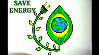 320x180 save electricity coloring poster step