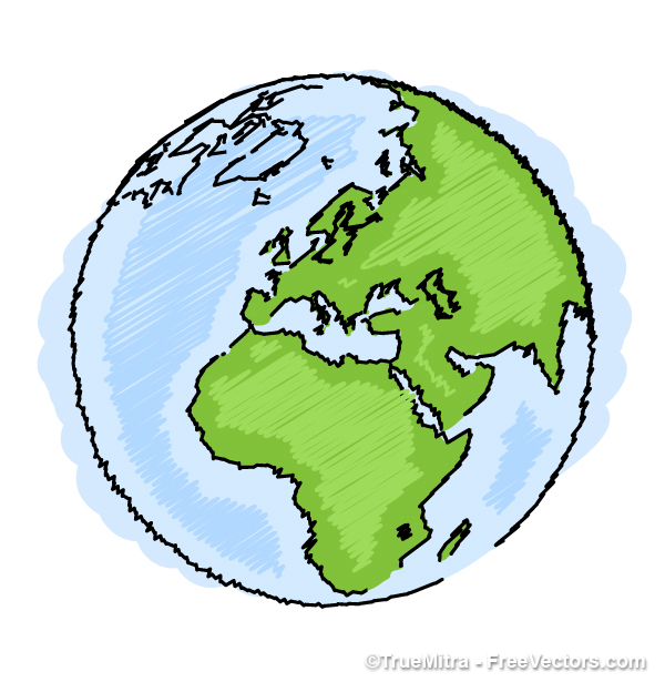 600x615 Download Save Earth Free Vectors
