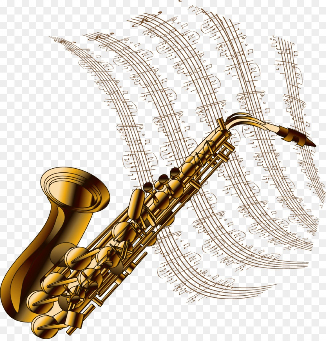 1080x1128 Jazz Drawing Saxophone Pencil