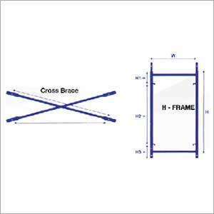 300x300 h frame scaffolding system exporter, h frame scaffolding system