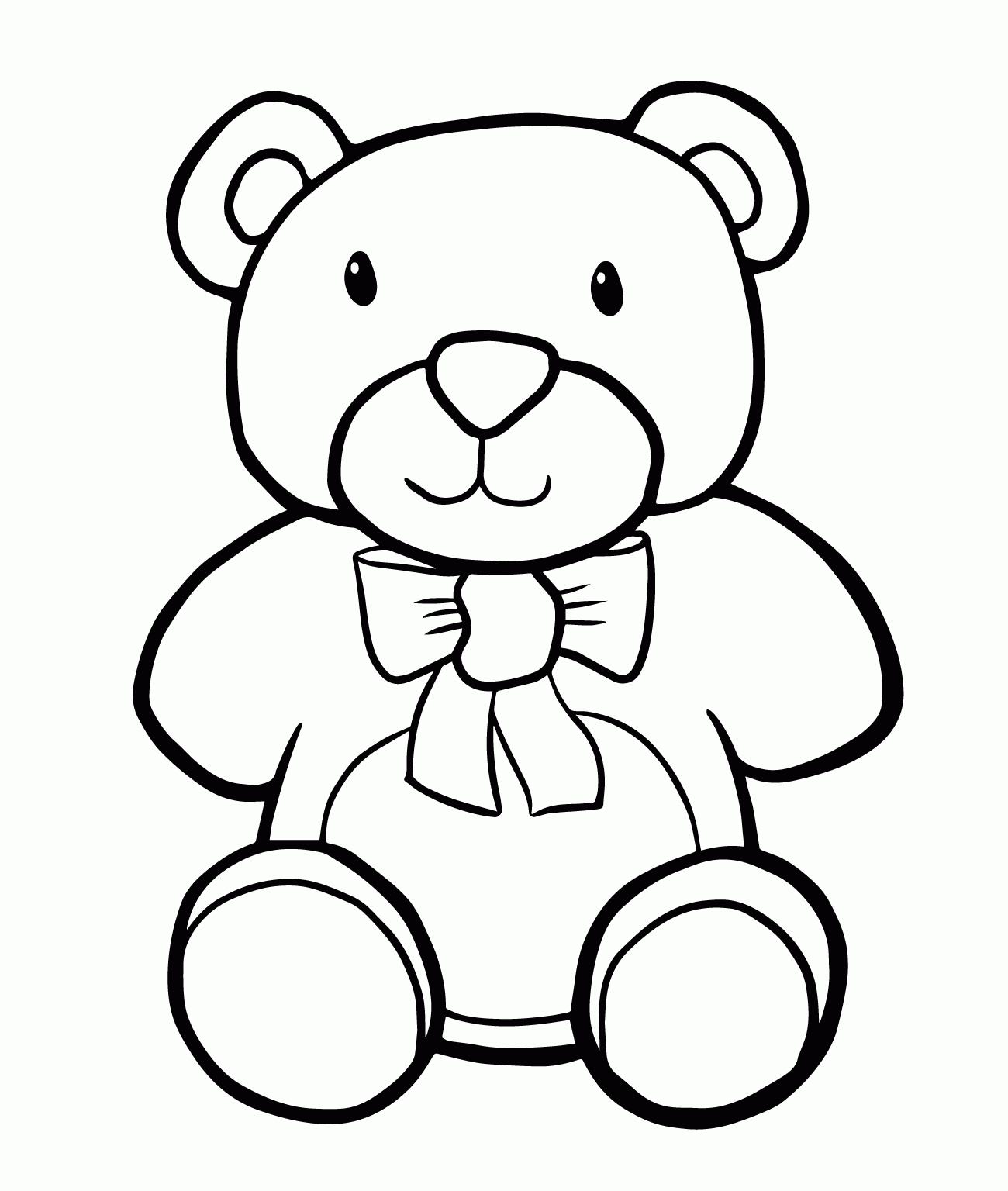 Scary Bear Drawing