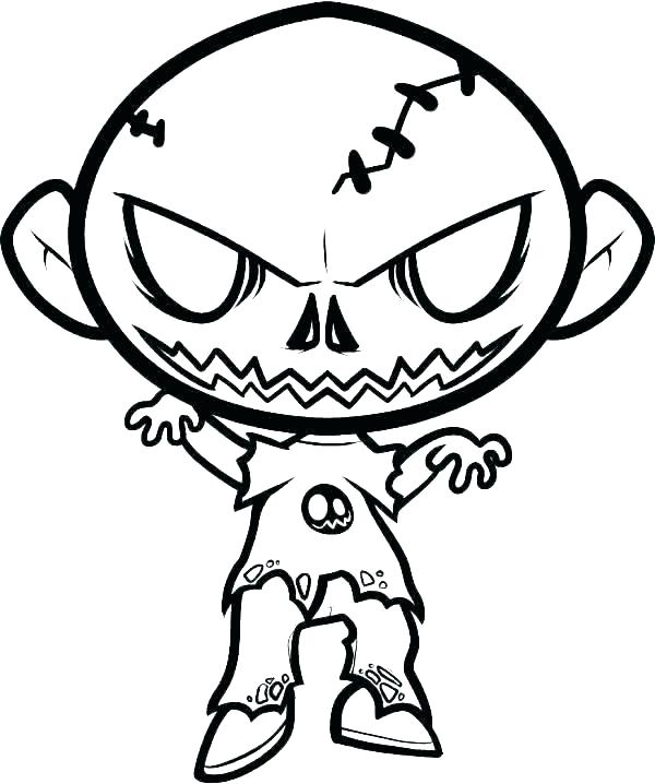 Scary Clown Drawing   Free download on ClipArtMag