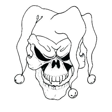 380x380 drawing of a scary clown scary clown sketch drawing scary clowns