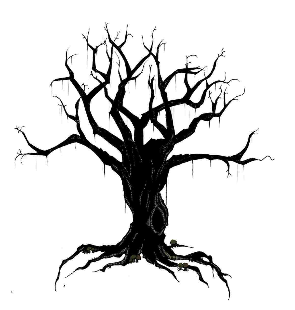 1202x1264 Easy Creepy Spooky Drawings