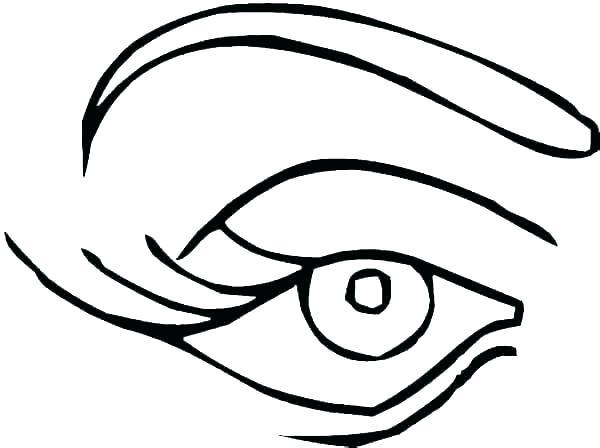 Scary Eyes Drawing   Free download on ClipArtMag