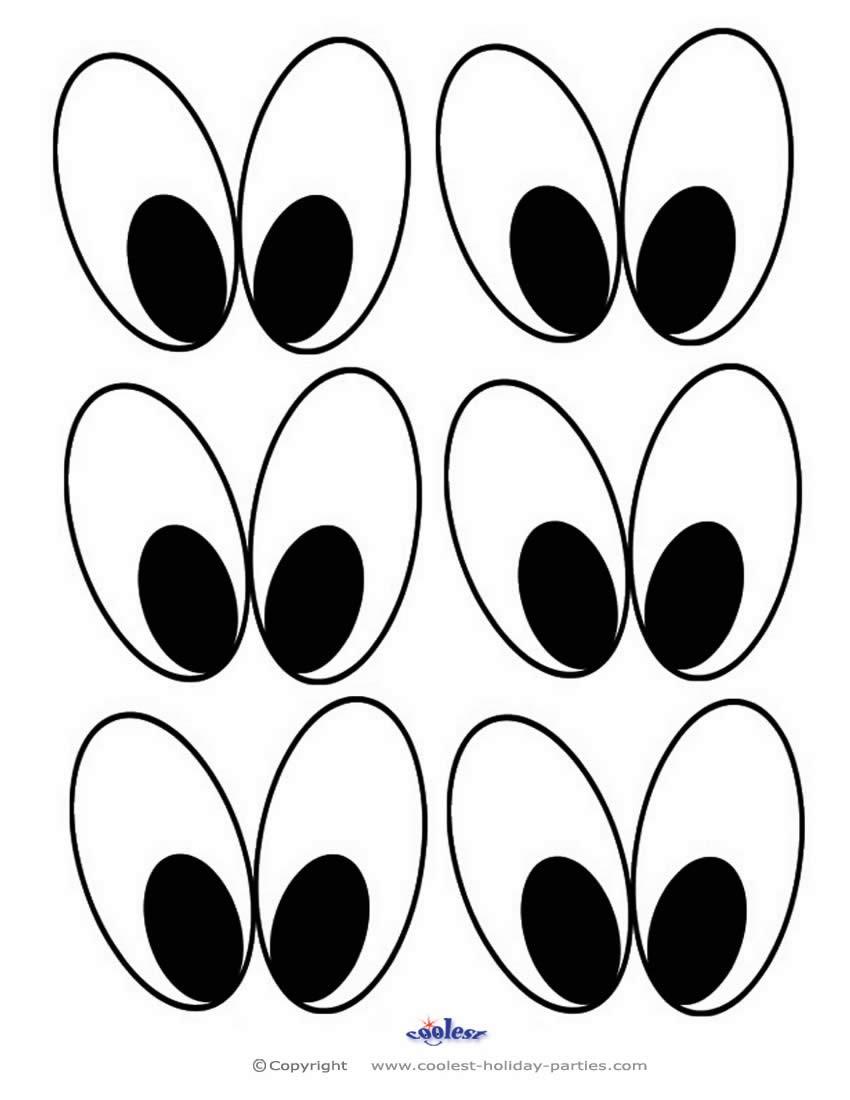 850x1100 Eye Drawing Template Eyeball Templates
