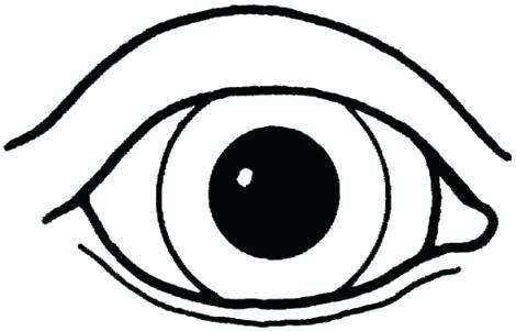 470x301 Eyeball Coloring Pages Awesome Scary To Print Drawings Easy Ky