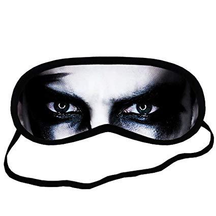 425x425 Scary Eyes Eye Printed Travel Eye Mask Sleeping Amazon Ca
