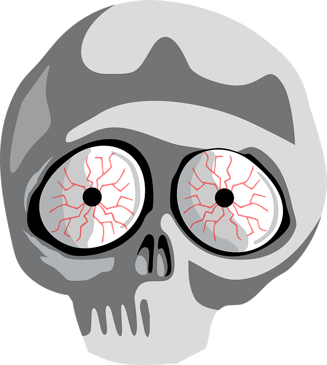 646x720 Scared Eyes Png Clipart