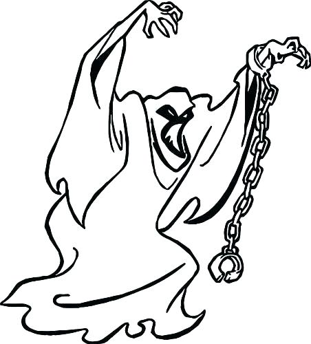 452x500 Scary Ghost Coloring Pictures Ghost Coloring Pages Ghost Coloring