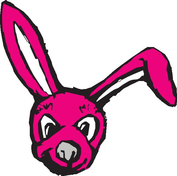 600x595 Scary Bunny Clipart