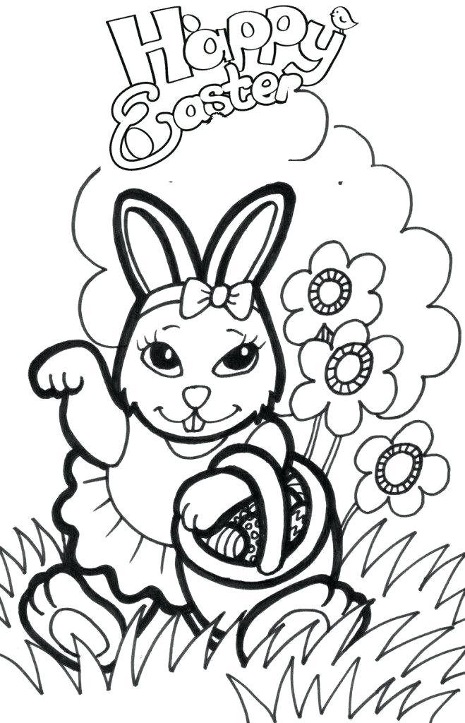 659x1024 Bunny Drawings Bunny Sketch Easy