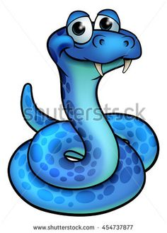 Scary Snake Drawing