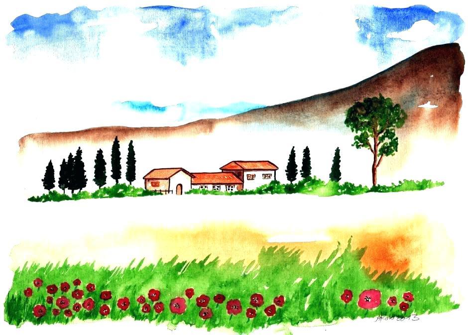 940x673 landscape drawing ideas simple landscape sketches simple landscape