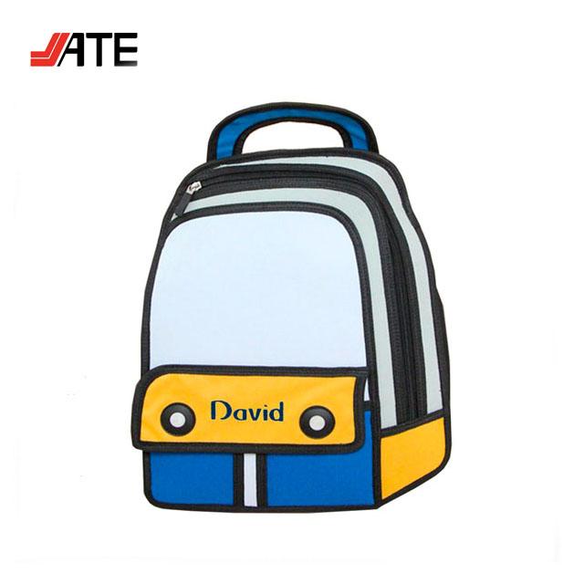 School Bag Drawing