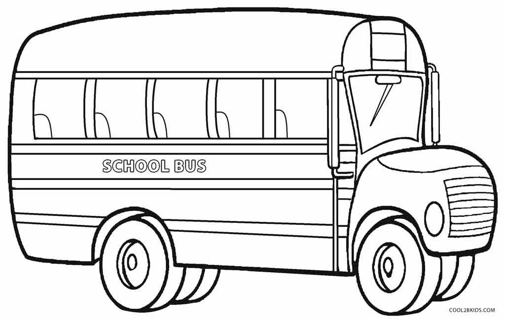 Free Download Best Simple Bus Drawing