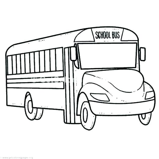 520x520 bus drawing how to draw a school bus step bus stop drawing