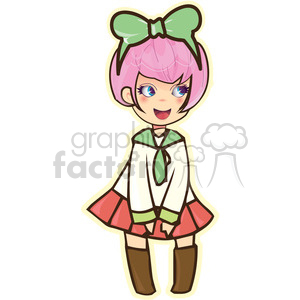 300x300 School Girl Clipart Royalty Free Clipart