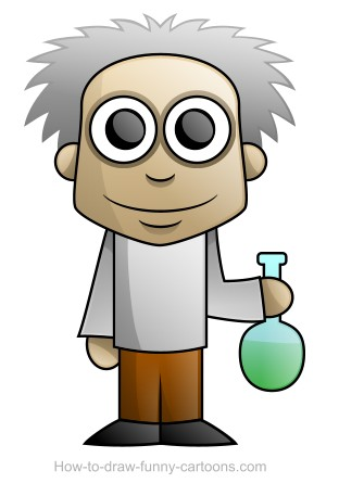 335x457 How To Draw A Science Beaker Step