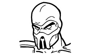 Scorpion Mortal Kombat Drawing Free Download Best Scorpion