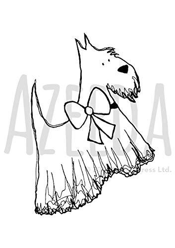 Scottie Dog Drawing