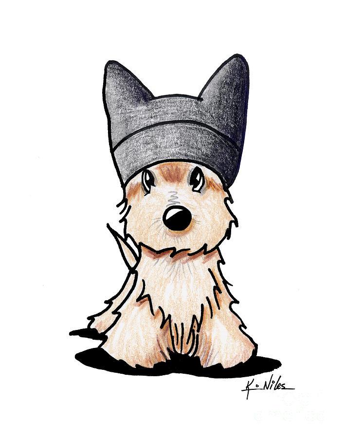 Scottish Terrier Drawing
