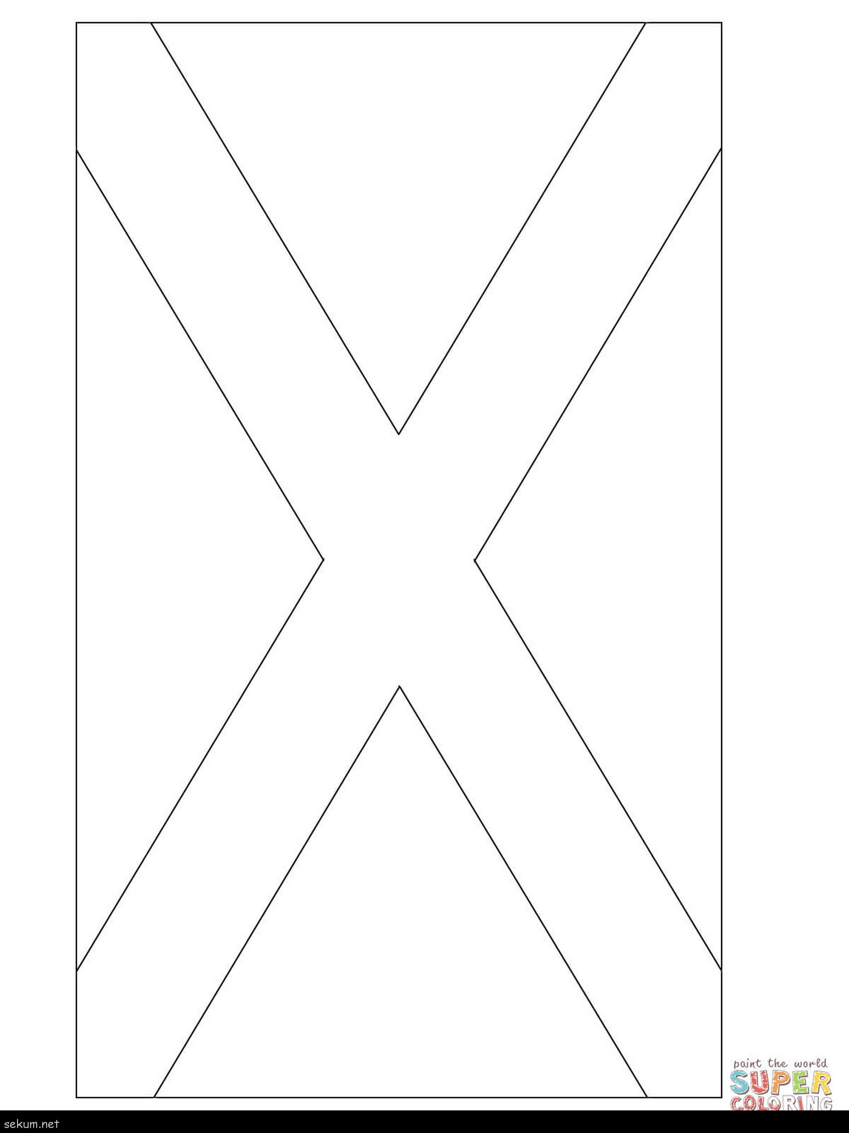 1692x2256 Noted Scottish Flag To Colour How Draw Scotland Drawing The Coloring