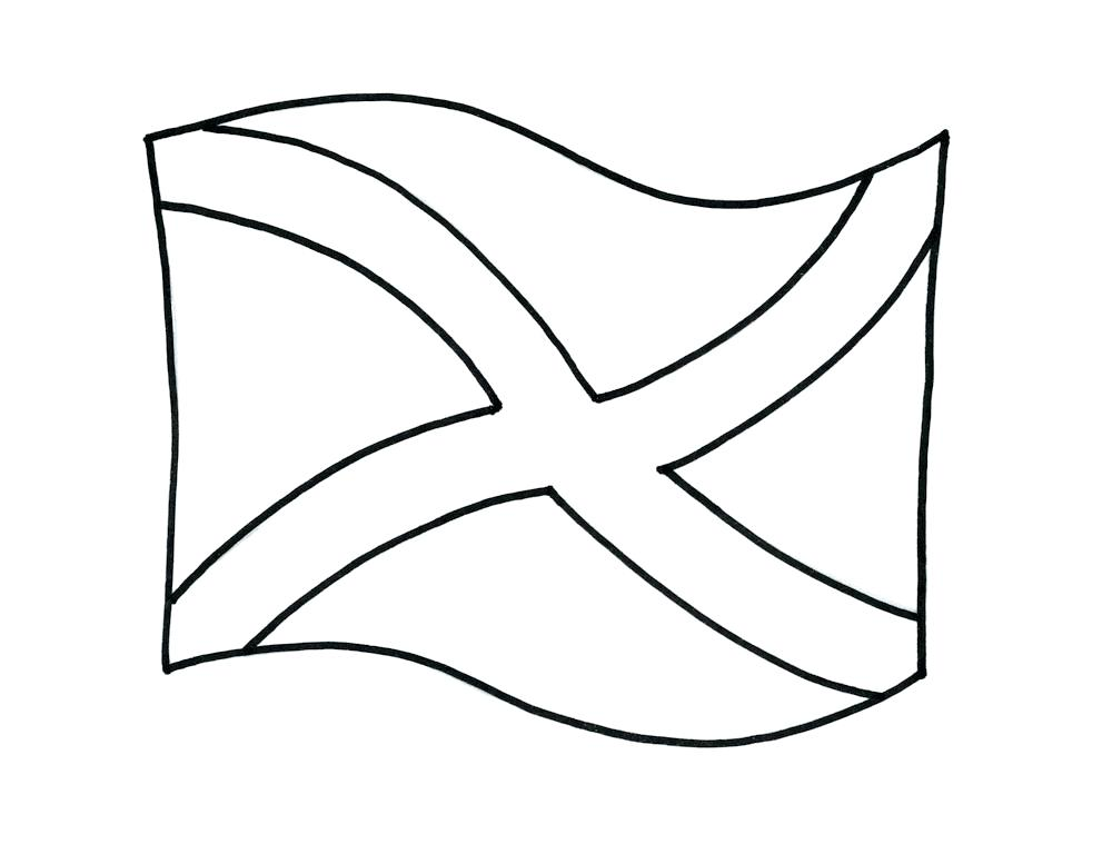 1000x768 outline of scotland national dirk dagger thistle national symbol