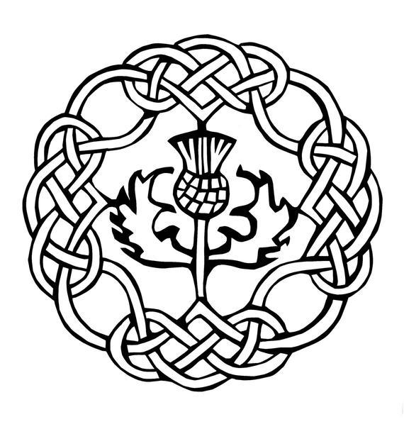 570x605 Scottish Gaelic Tattoos Drawings Ideas And Designs