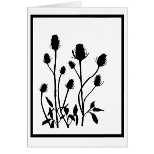 307x307 Thistle Drawing Gifts On Zazzle