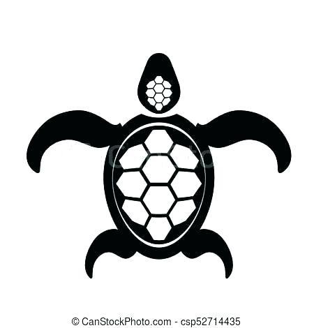 450x470 Easy Sea Turtle Drawing Turtle
