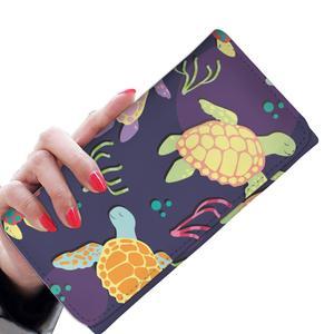 300x300 Sea Turtle Color Smile Women Wallet Jorjune