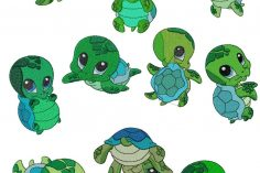 236x157 Turtle Drawing Color Colour Cute Step