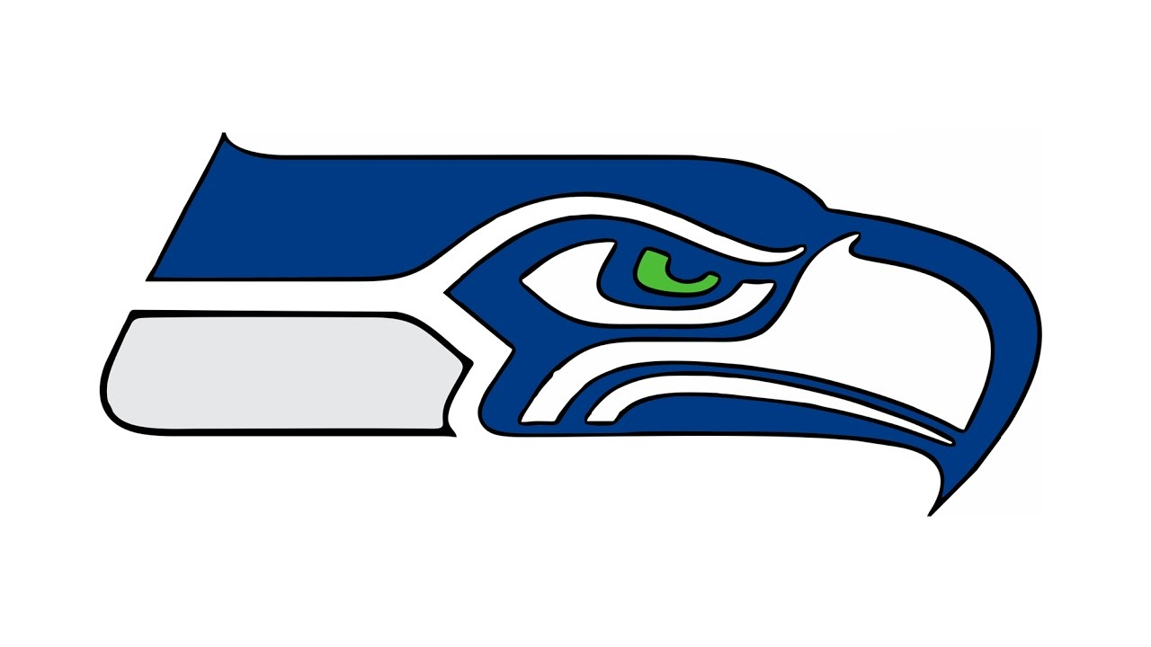 1280x720 How To Draw The Seattle Seahawks Logo