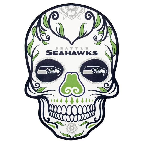 600x600 Applied Icon Nfl Seattle Seahawks Outdoor Skull Graphic Small