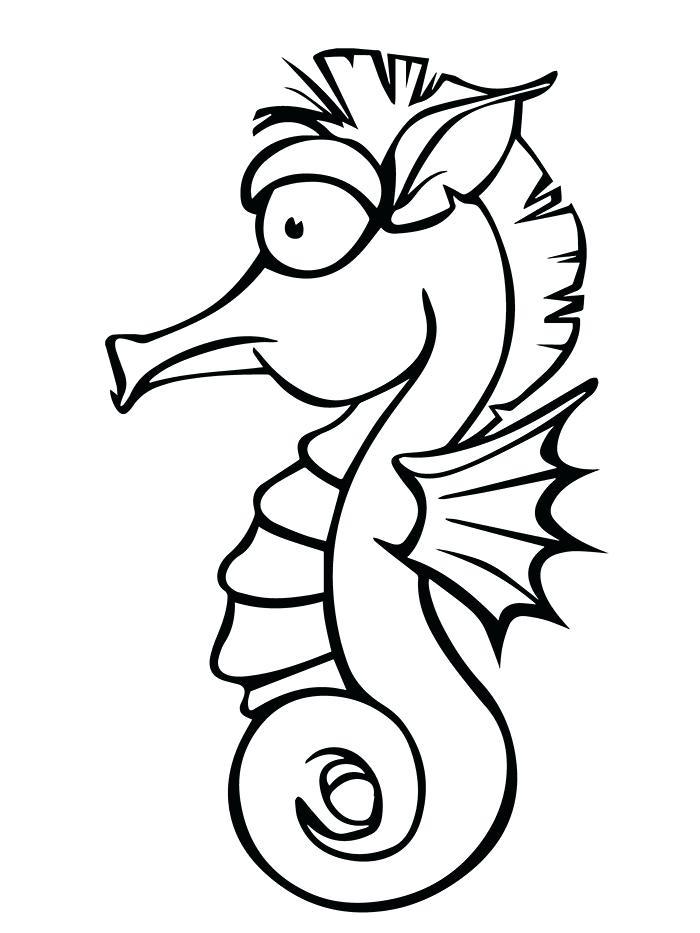 700x933 Seahorse Templates Cute Seahorse Template Seahorse Templates
