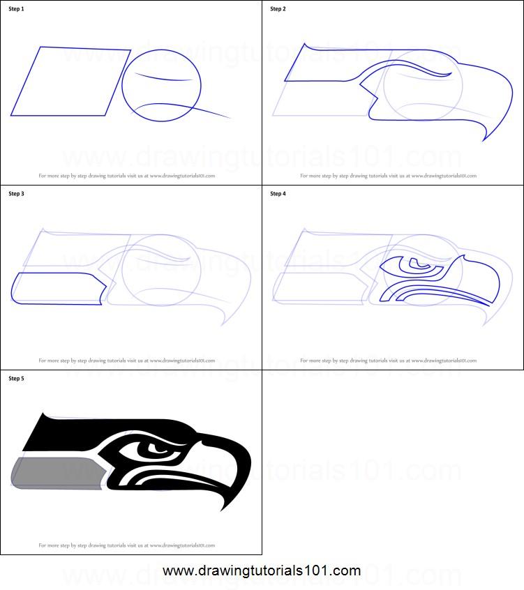 Seattle Seahawks Drawings Free Download Best Seattle
