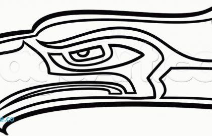 Seattle Seahawks Drawings | Free download best Seattle ...