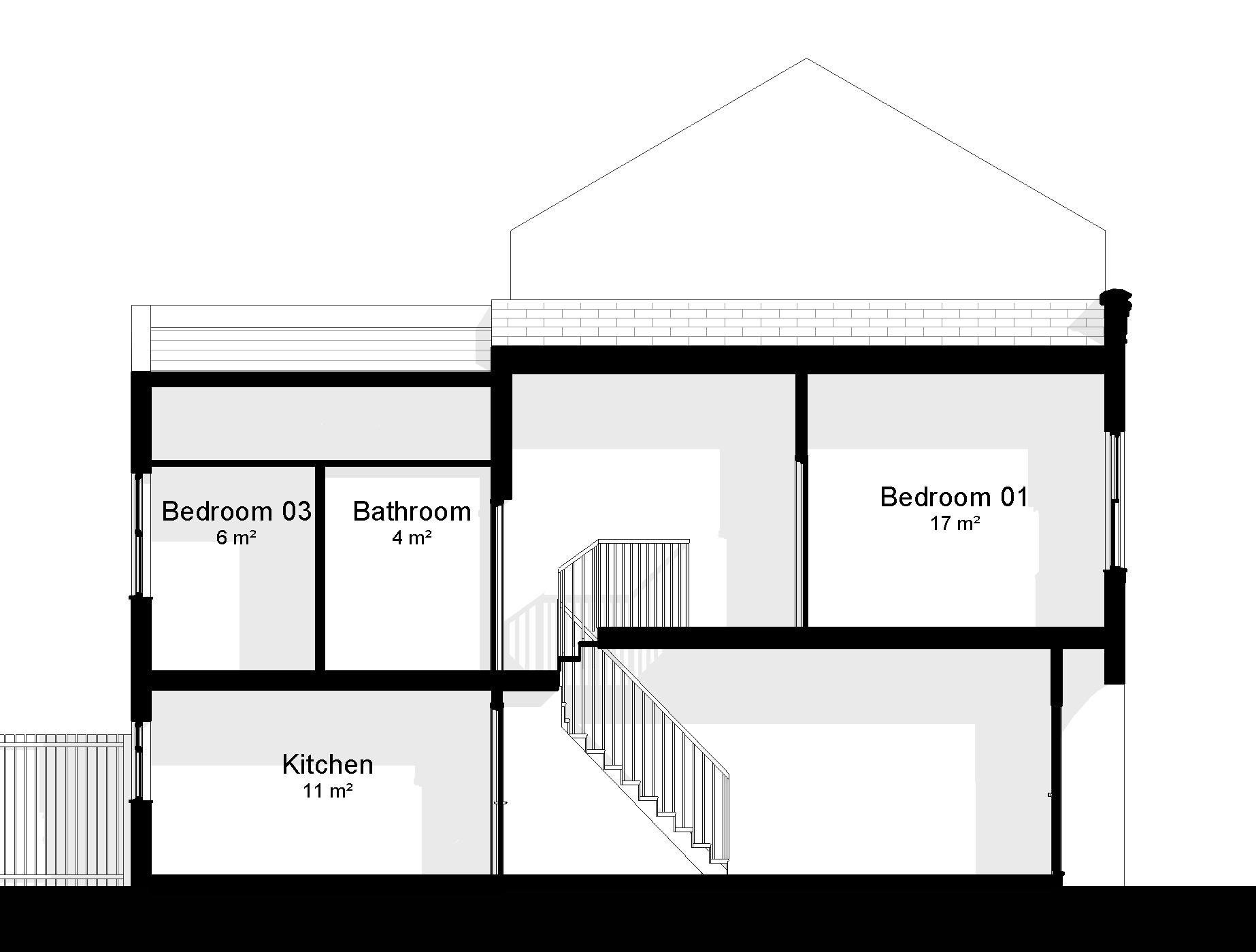 Section Drawing Architecture