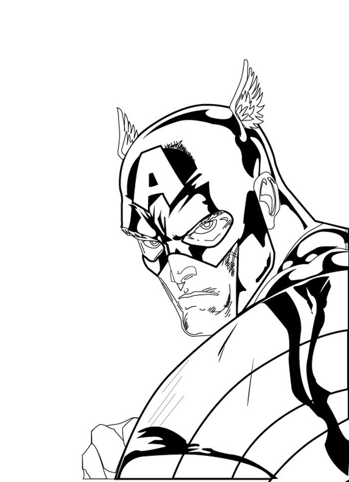 700x968 captain america the vector sector captain america, sketches