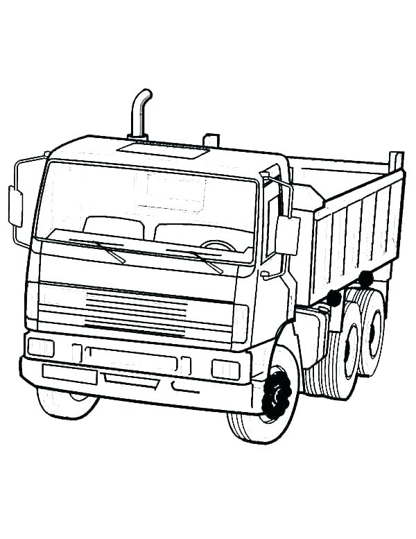600x777 drawing trucks semi truck drawing new pencil drawings of semi