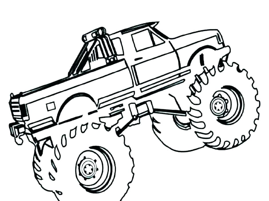 940x705 semi coloring pages semi trailer truck coloring