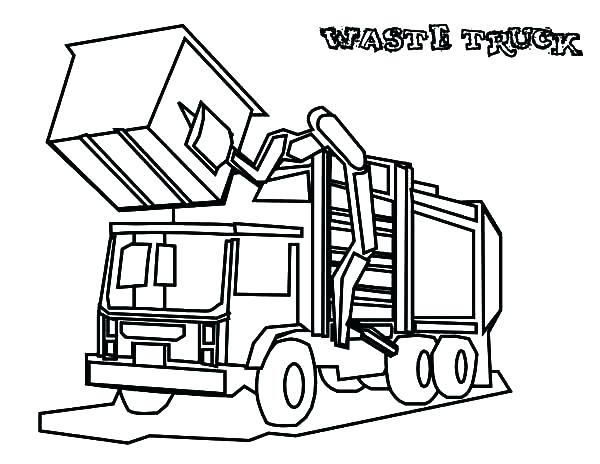 Semi Truck Line Drawing | Free download on ClipArtMag