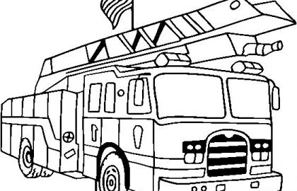 420x270 semi truck coloring pages free luxury semi truck line drawing