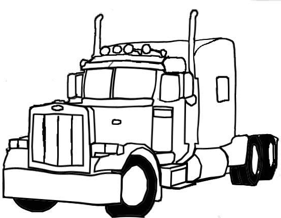 550x426 semi truck coloring pages semi truck coloring pages anyone